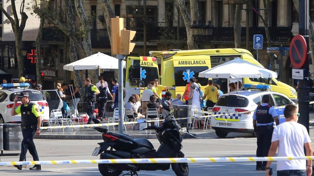 Gázolásos merénylet Barcelonában