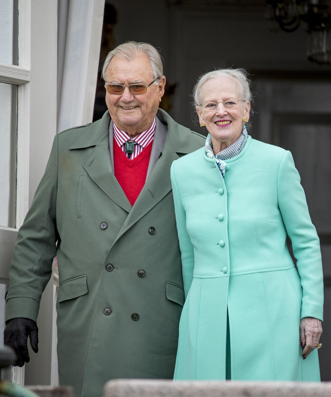 II, Margit Dán királynő és férje, Henrik dán herceg. Fotó: dpa