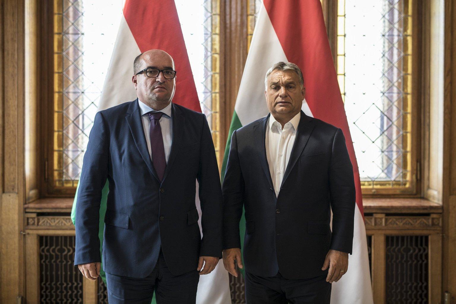 Orbán Viktor és Brenzovics László találkozója
