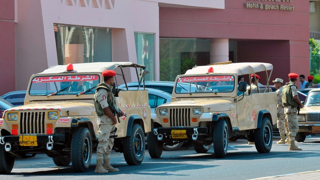 Sok egyiptomi rendőrt öltek meg terroristák