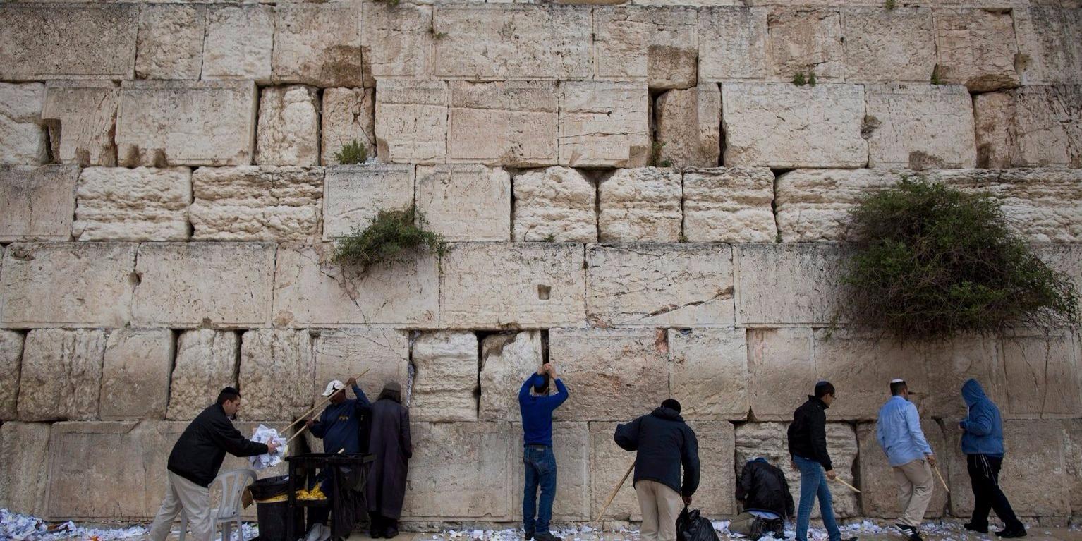 A palesztinok elutasítják, hogy a jeruzsálemi Siratófal izraeli ellenőrzés alatt maradjon