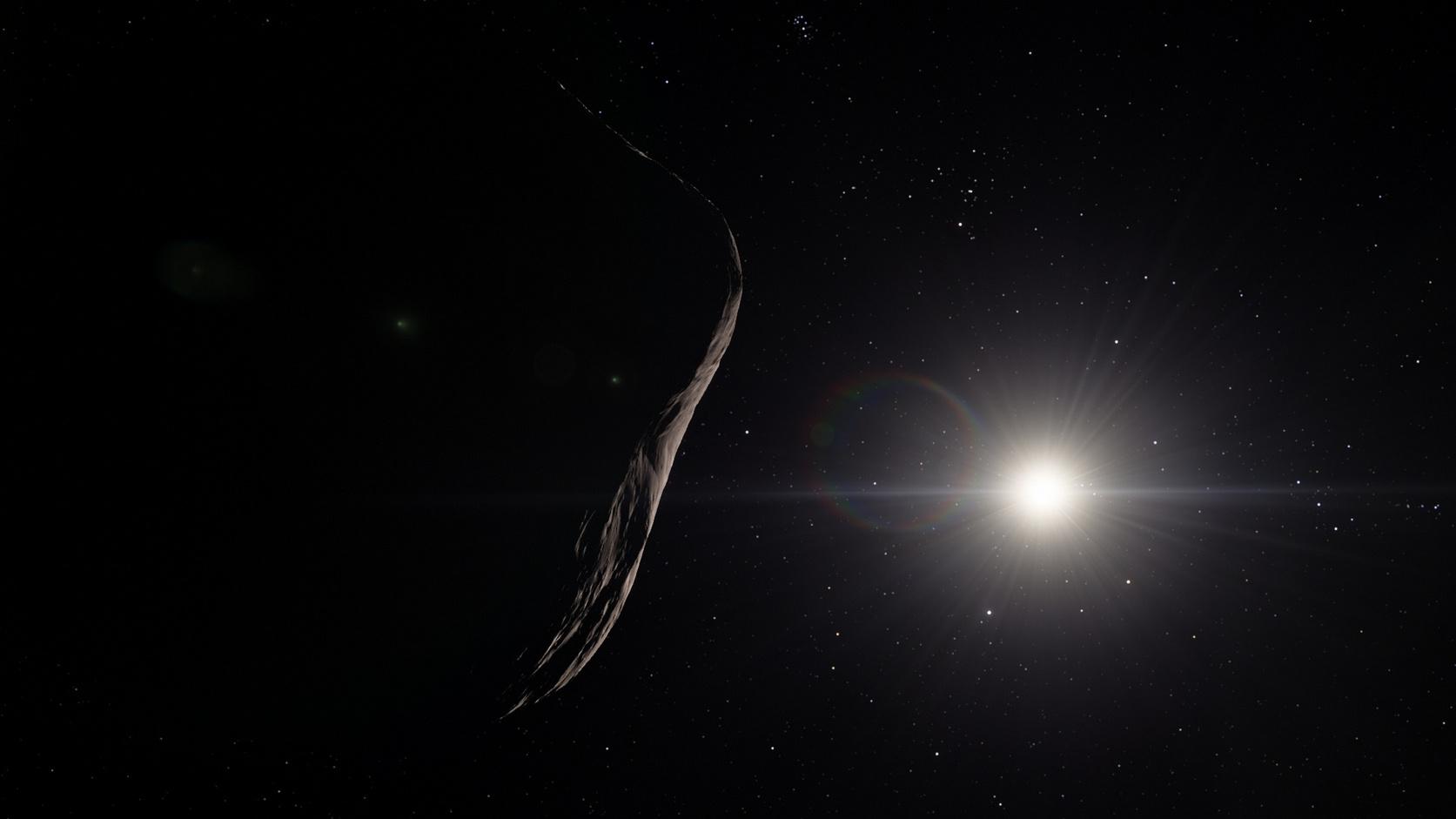 Az Oumuamua aszteroida lázban tartja a kutatókat (Fotó: Shutterstock)