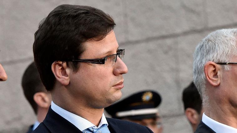 Gulyás Gergely, a Fidesz frakcióvezetője (MTI Fotó: Máthé Zoltán)