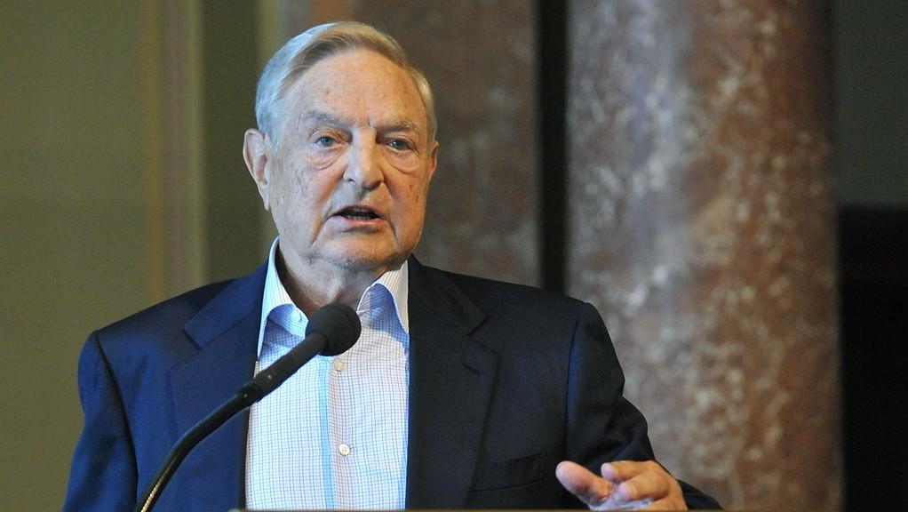 Soros György magyar származású amerikai üzletember, a New York-i Soros Fund Management befektetési társaság elnöke (MTI Fotó: Soós Lajos)