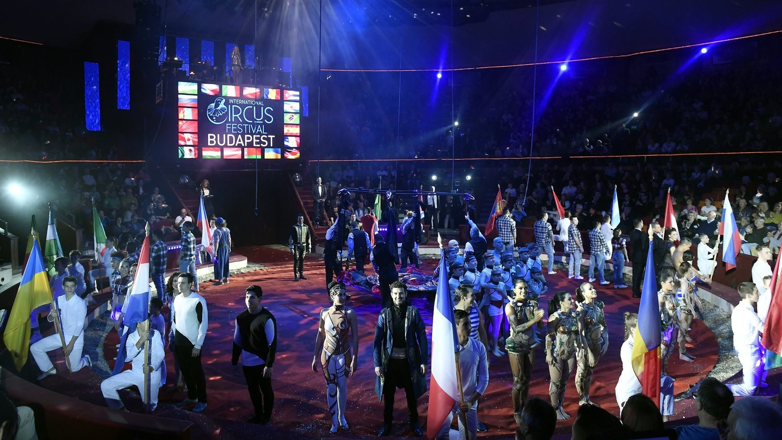 """Képtalálat a következőre: """"Január 9-én az A-műsorral kezdődött a XII. Budapest Nemzetközi Cirkuszfesztivál hivatalos szakmai programja!"""""""