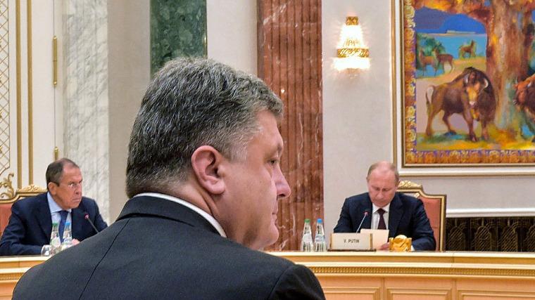 Ukrán cáfolat: nem volt semmiféle titkos Porosenko-Putyin találkozó