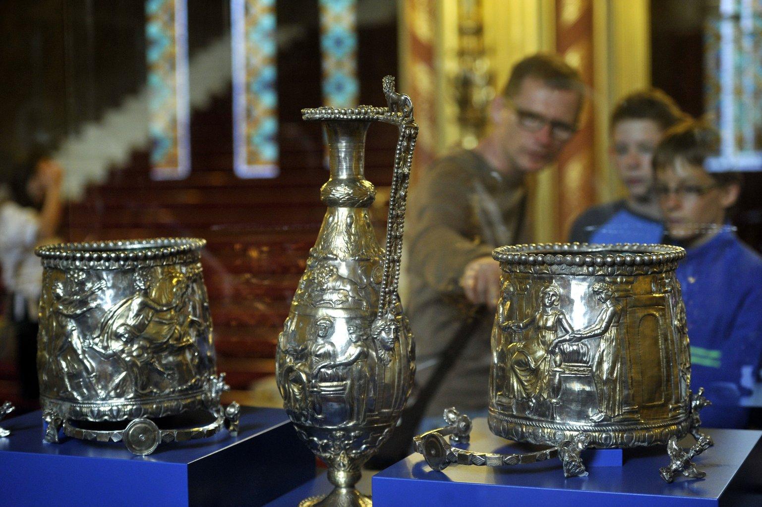 Látogatói rekord dőlt meg: a Seuso kincsek kiállításán Kaposváron