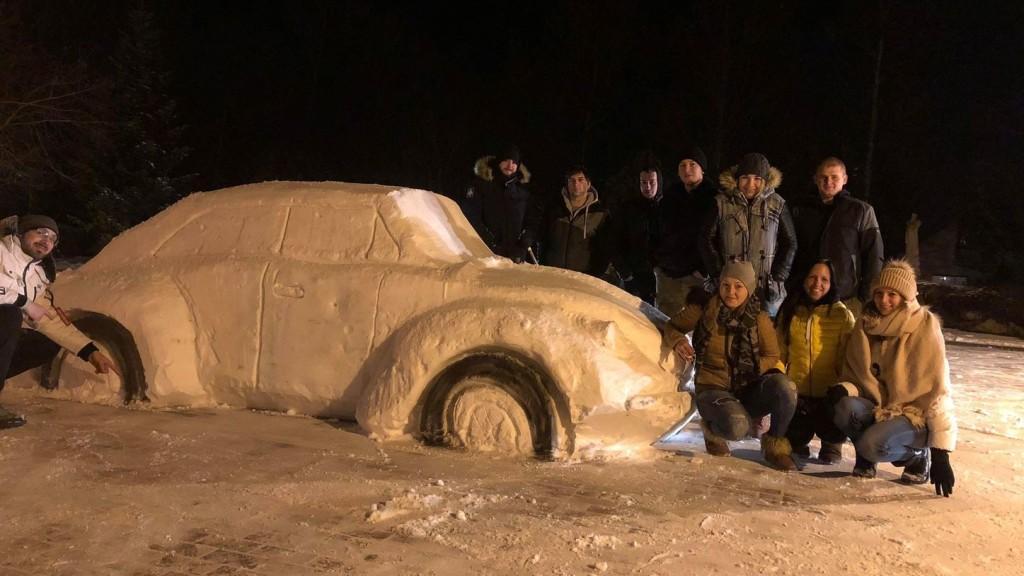 Hóverdát építettek Biatorbágy főterére