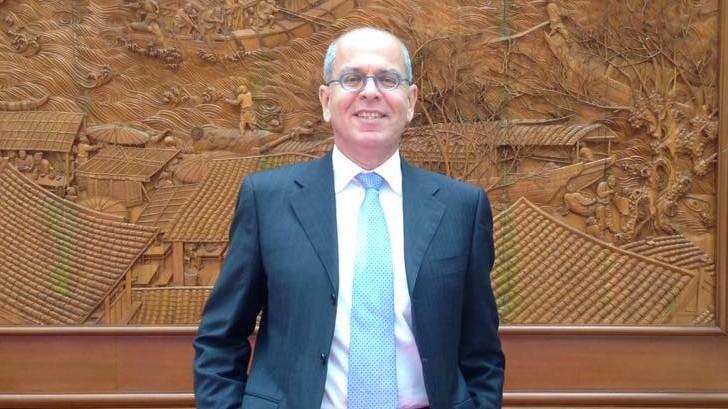 Yosef Amrani, izraeli nagykövet (Forrás: Facebook)