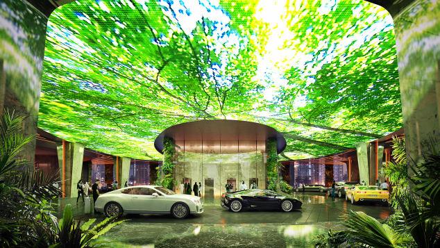 Esőerdő és mesterséges tengerpart várja az új luxushotel vendégeit