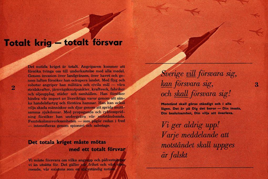 Ha jön a háború - (Hideg)háborús kisokost kapnak a svédek