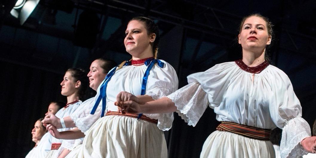 Illusztráció: Hagyományőrző moldvai csángók táncelőadása a XX. Csángó Bálon a fővárosi Syma rendezvényközpontban 2016. január 30-án este (Fotó: MTI/Kallos Bea)
