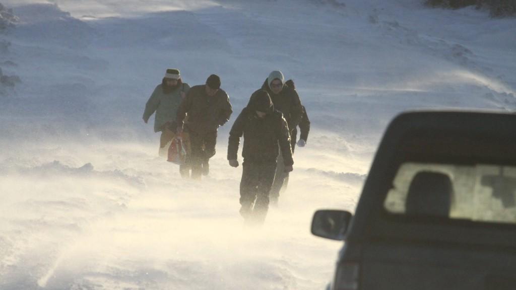 Riasztás a nyugati határ mentén hófúvás miatt
