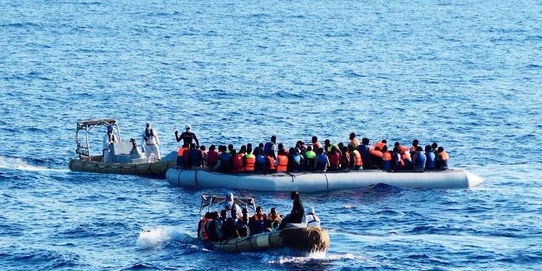 Újabb migrációs hullám tart Európa felé