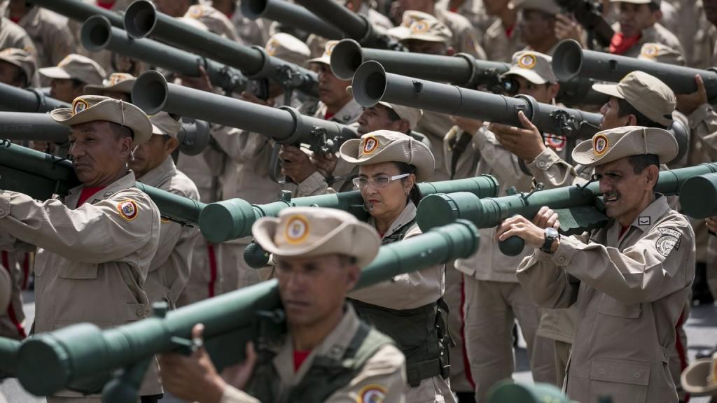 Venezuela nagyszabású hadgyakorlatra készül