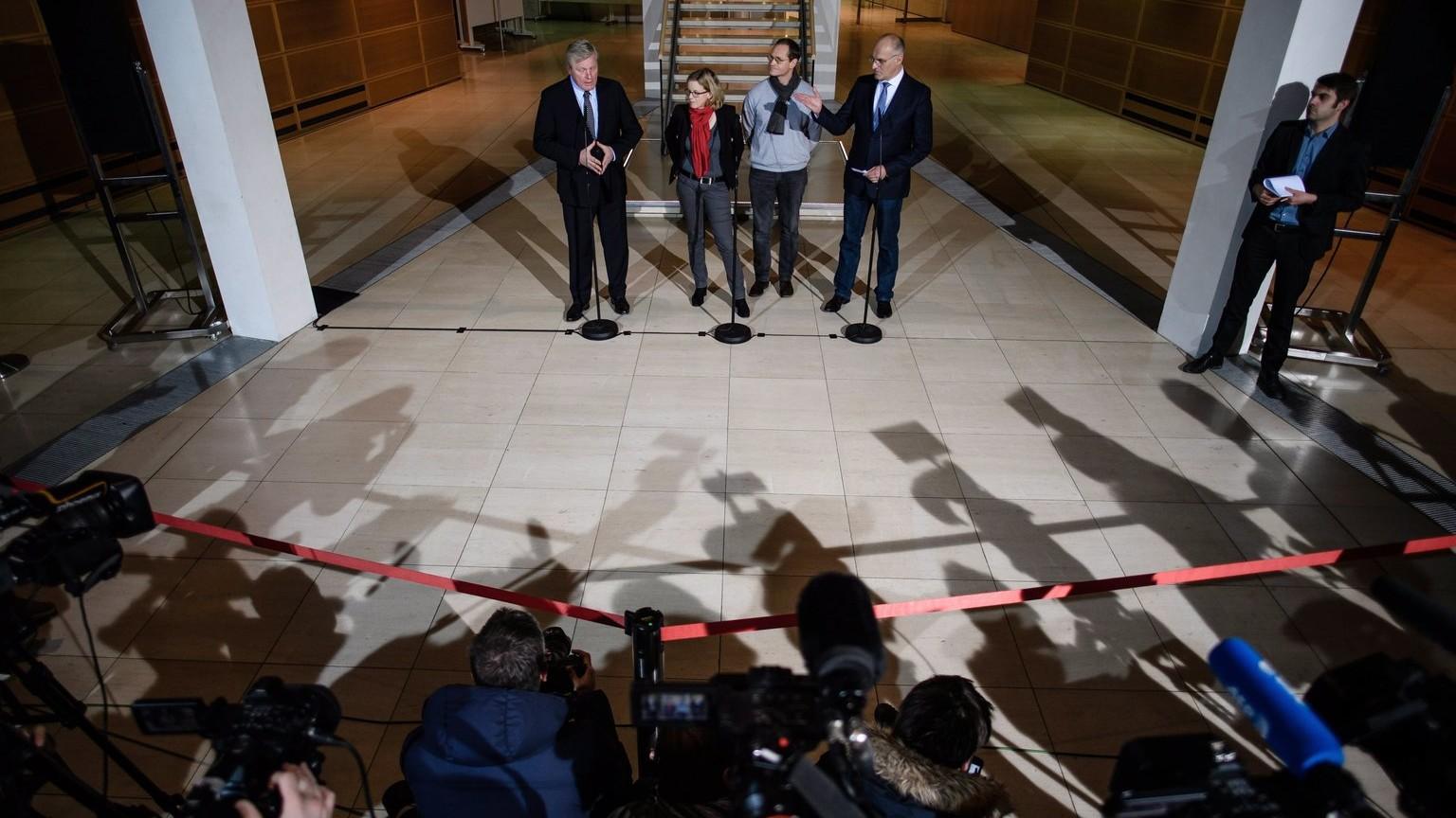 Kedden is folytatódnak a koalíciós tárgyalások Berlinben