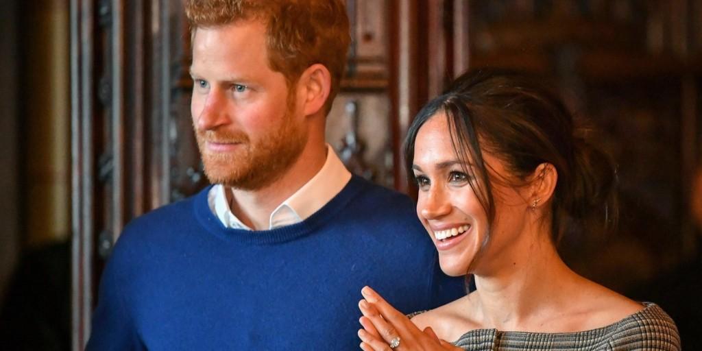 Új hullámos esküvői tortája lesz Harry hercegnek és Meghan Markle-nek