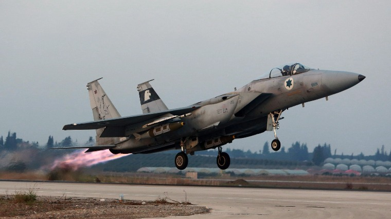 Izrael megtámadta a Gázai övezetet