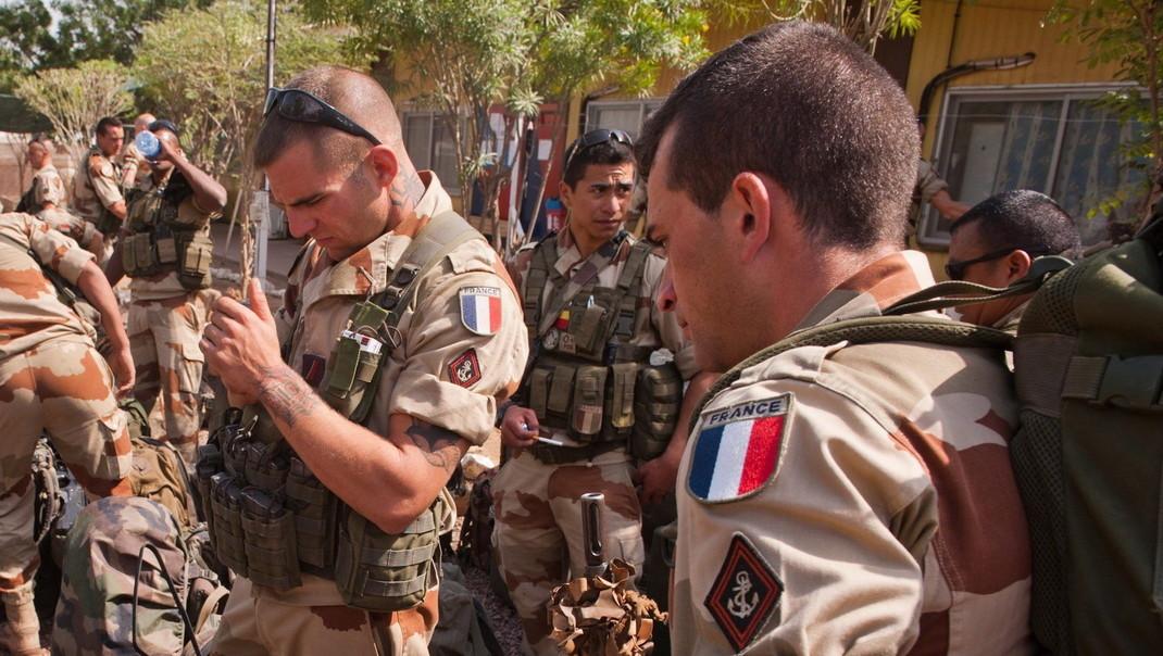 Francia katonák – képünk illusztráció (Fotó: MTI/EPA/ECPAD/Richard Nicolas-Nelson)