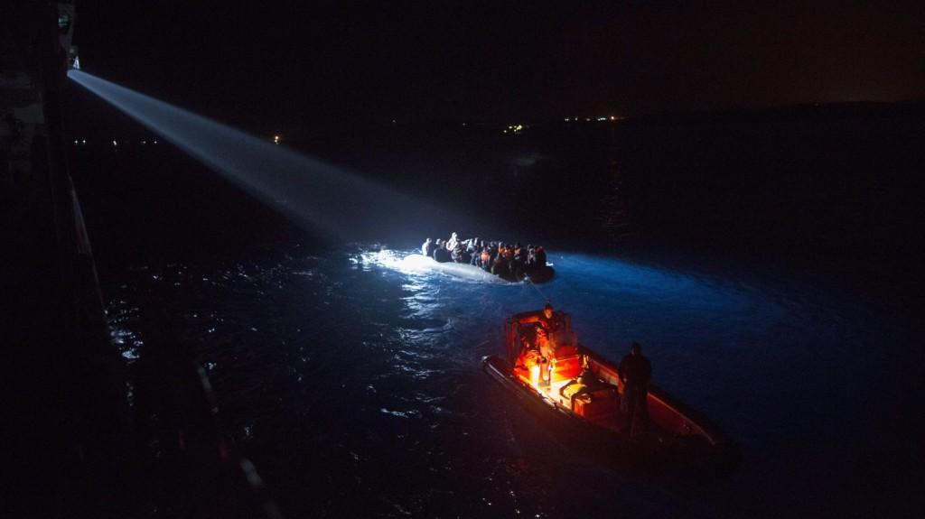 Migránsok vesztek az Égei-tengerbe