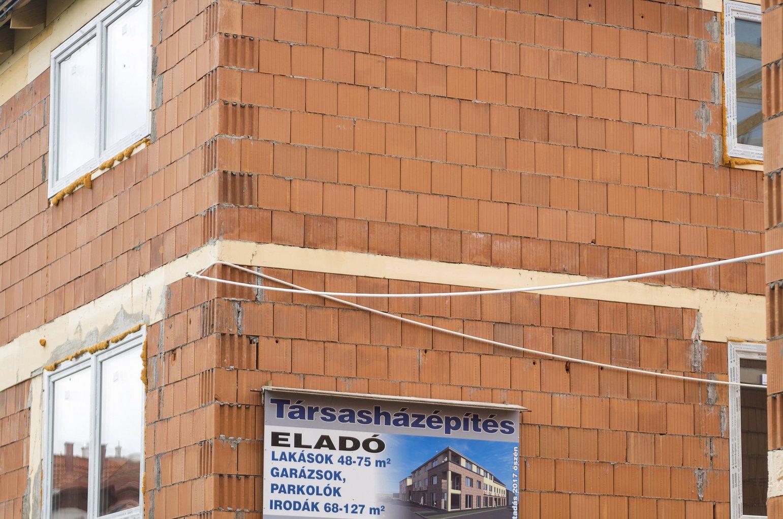 építkezés - társasház - eladó