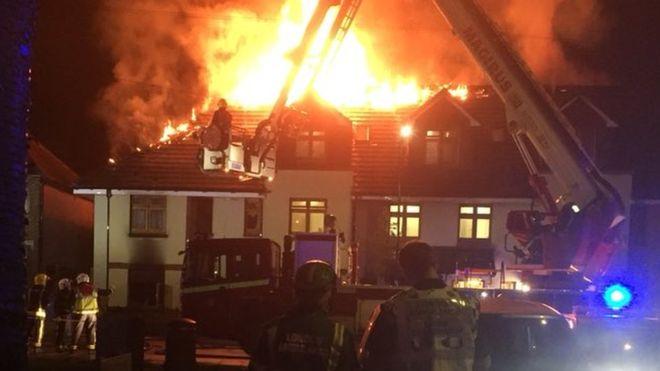 Tűz ütött ki egy londoni speciális otthonban