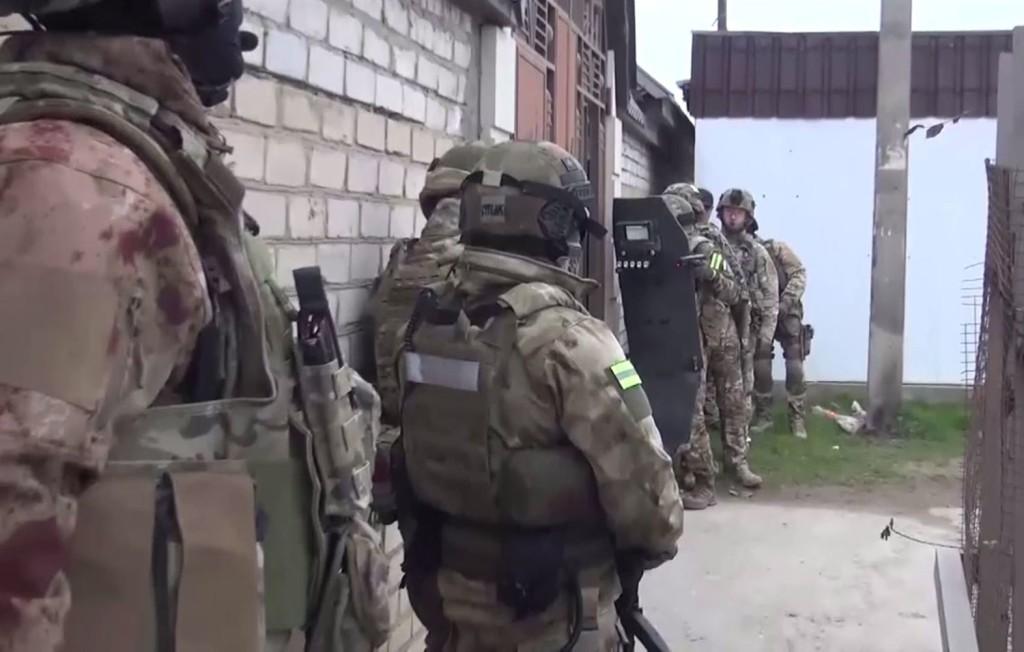 """""""Szélsőséges"""" krími csoport leleplezéséről számolt be az FSZB"""