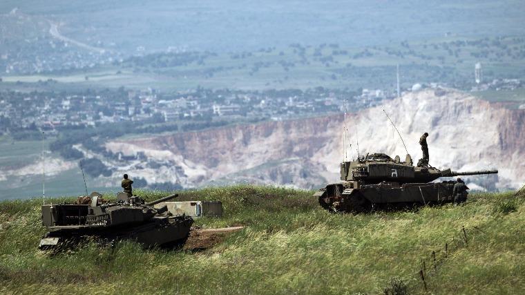 Rakétákkal lőtték az izraeli erők a szíriai hadsereg állásait