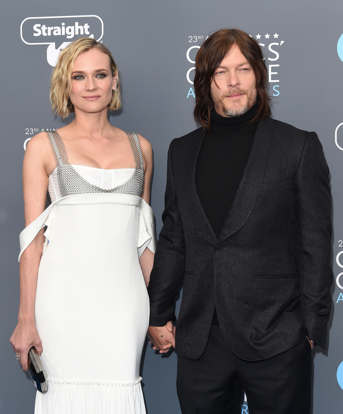Diane Kruger és Norman Reedus (Fotó: Getty Images)