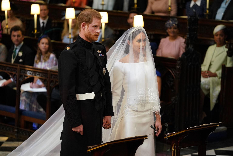 Harry herceg és Meghan Markle már férj és feleség. Fotó: Getty images