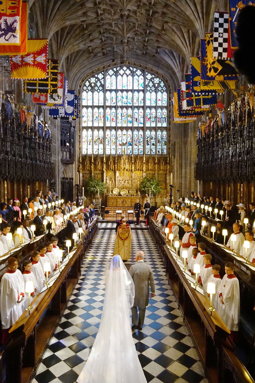 Meghan Markle Károly herceg kíséretében. Fotó: Getty Images