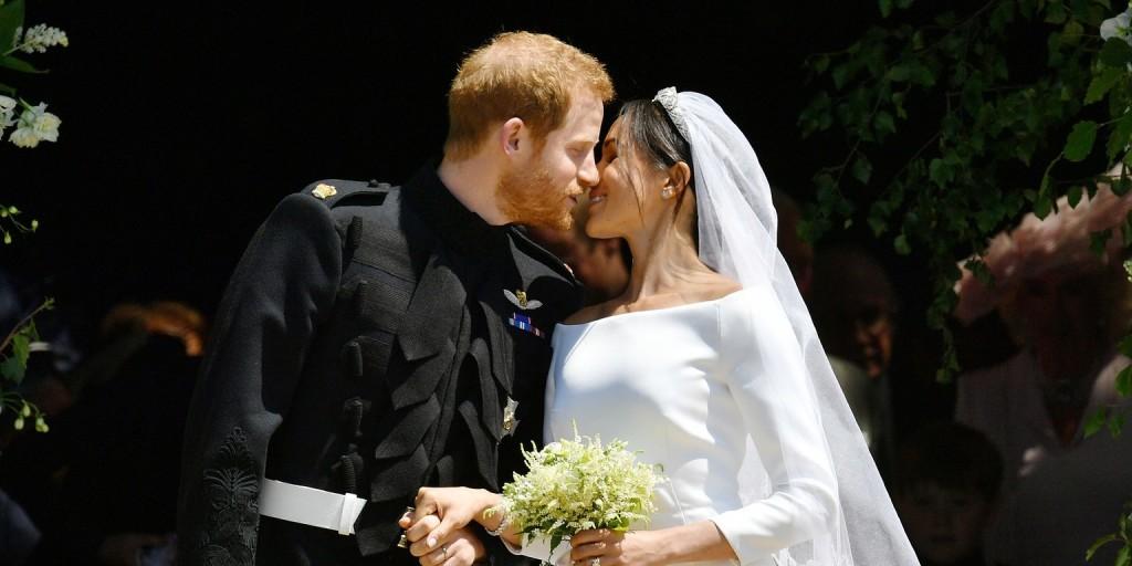 Ámulatba ejtőek Harry és Meghan hivatalos esküvői fotói