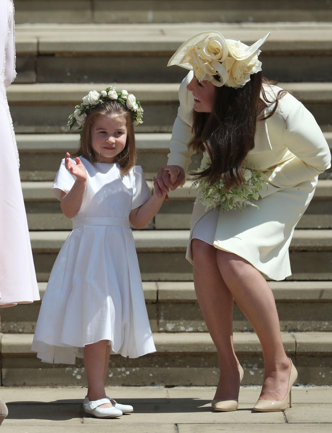 Sarolta hercegnő és Katalin hercegné. Fotó: Getty Images