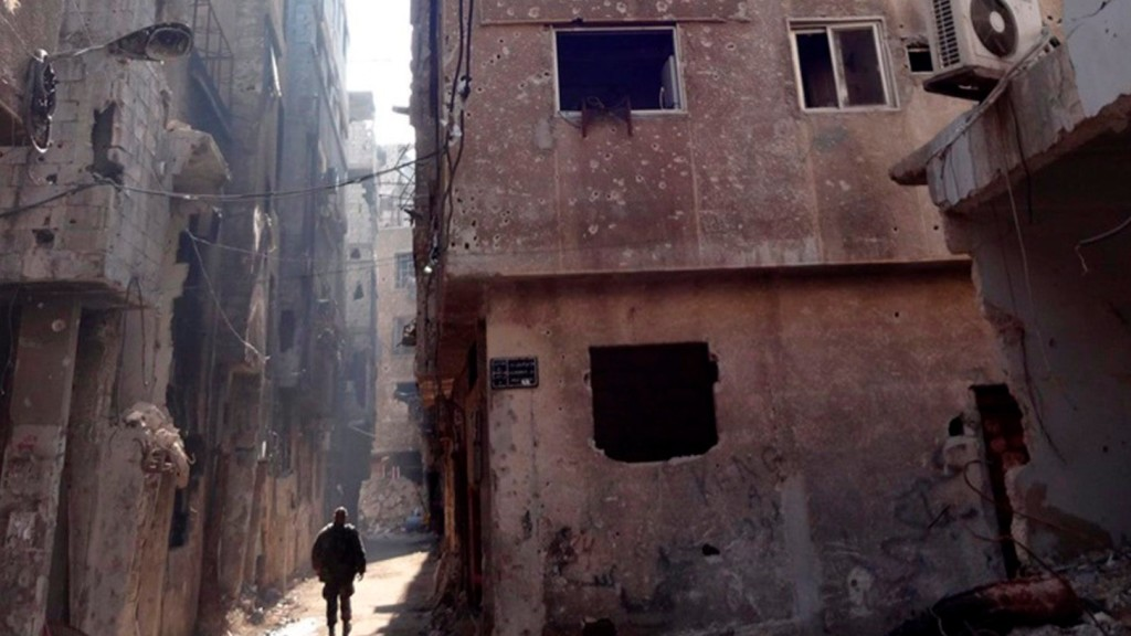 Kiszorították az Iszlám Államot Damaszkusz déli körzetéből