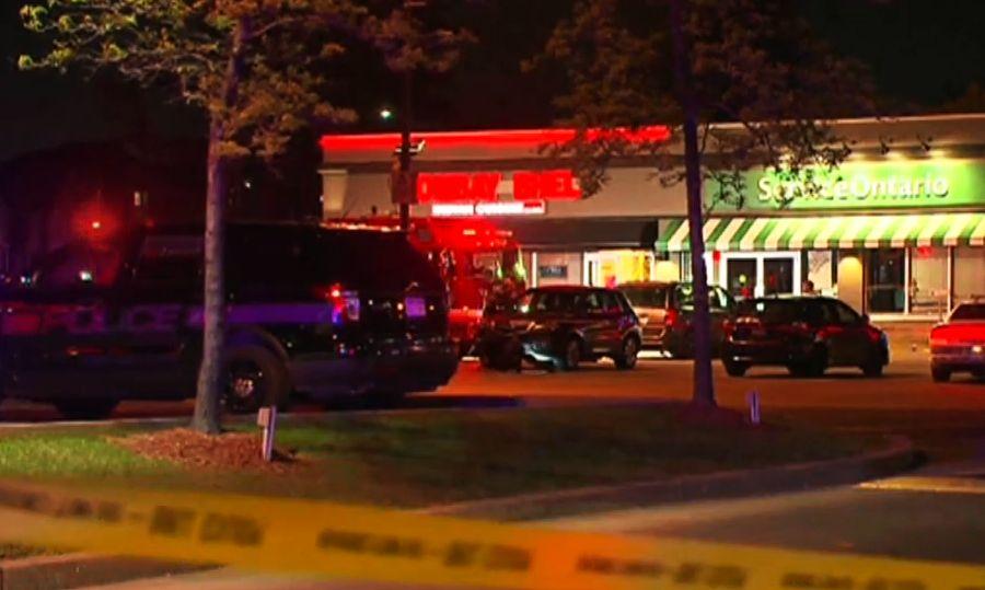 Pokolgépet robbantottak egy kanadai étteremben