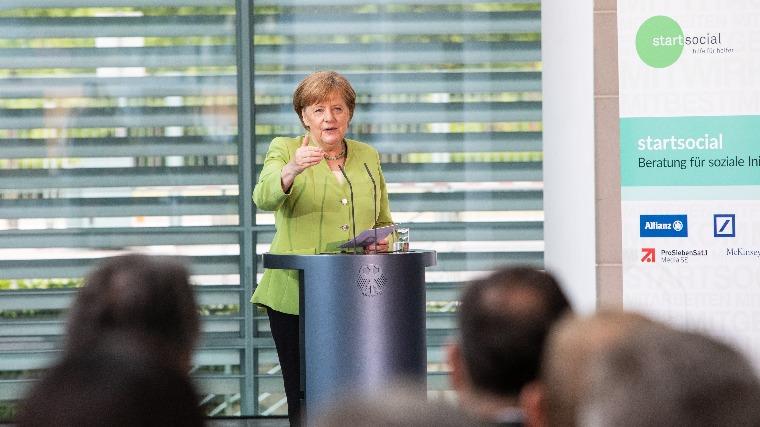 Angela Merkel német kancellár. MTI/EPA Fotó