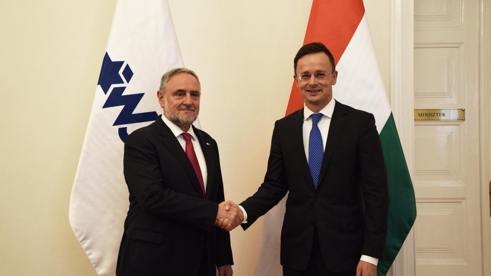 Szijjártó: Magyarország továbbra is stratégiai partnerként tekint Izraelre