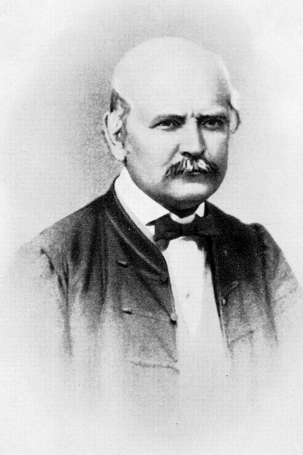 Magyarország, 1861.  1861-ben készült felvétel Semmelweis Ignác Fülöp szülészorvosról. A felvétel készítésének pontos helyszíne és dátuma ismeretlen. MTI Fotó: Reprodukció
