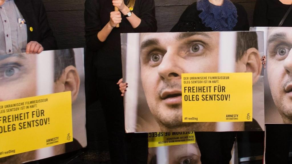 Kijev a Nobel-békedíjra jelöli Szencovot