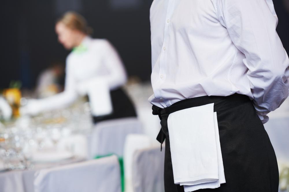 Stockphoto - catering - pincér - teríték - fogadás - vendéglátás