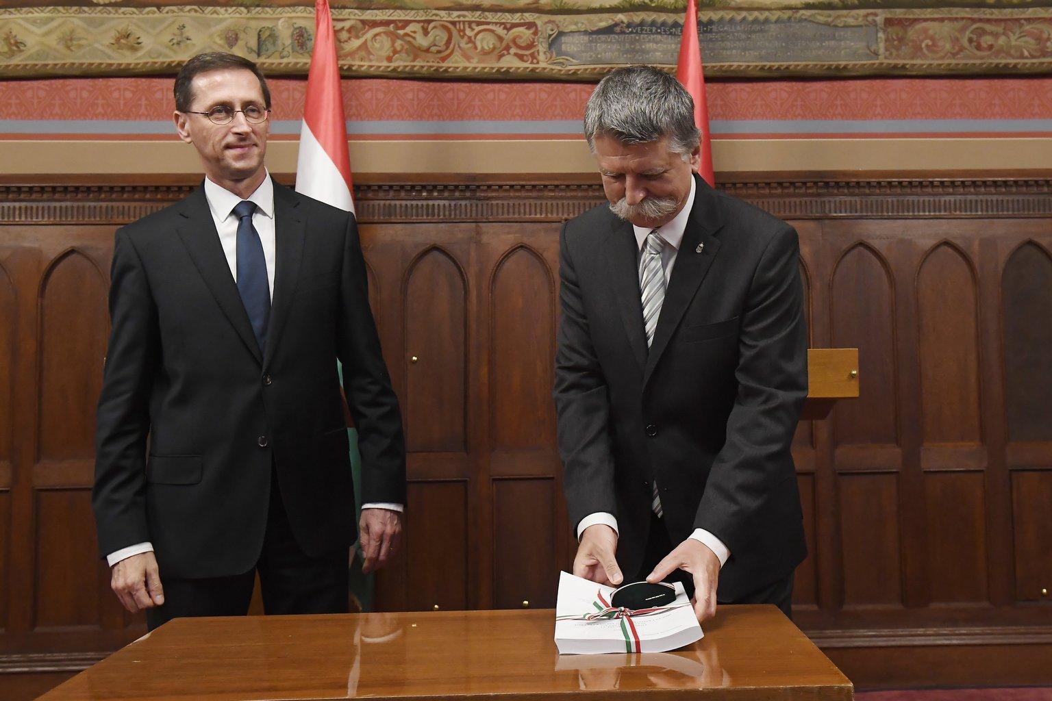 Varga Mihály - Kövér László - költségvetés - büdzsé