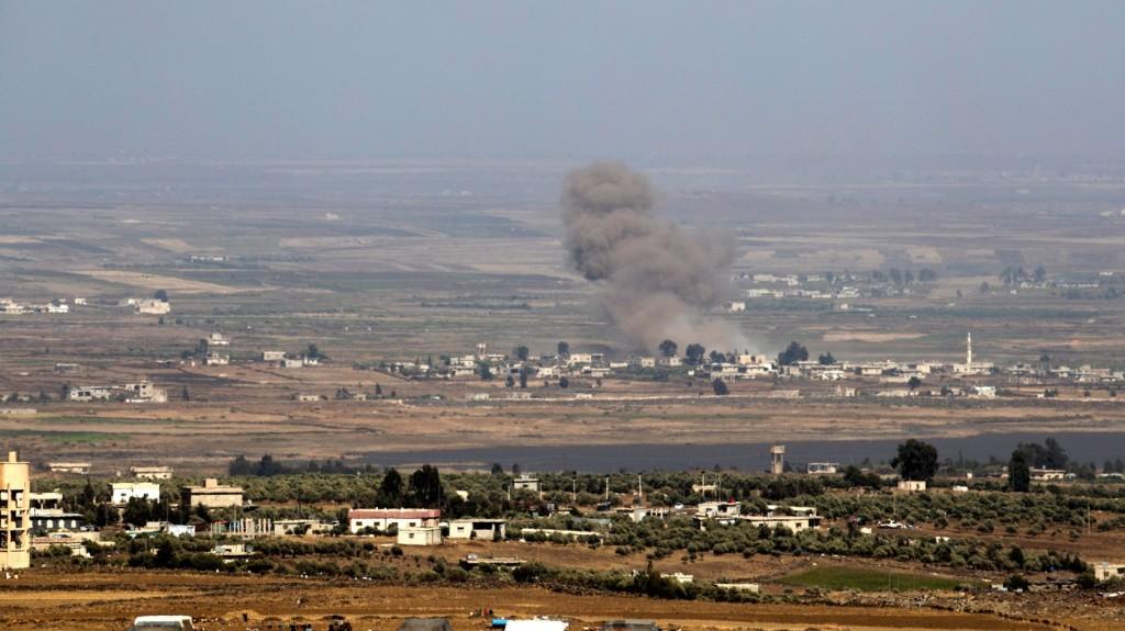 Megkezdték a szíriai lázadók evakuálását az izraeli határnál