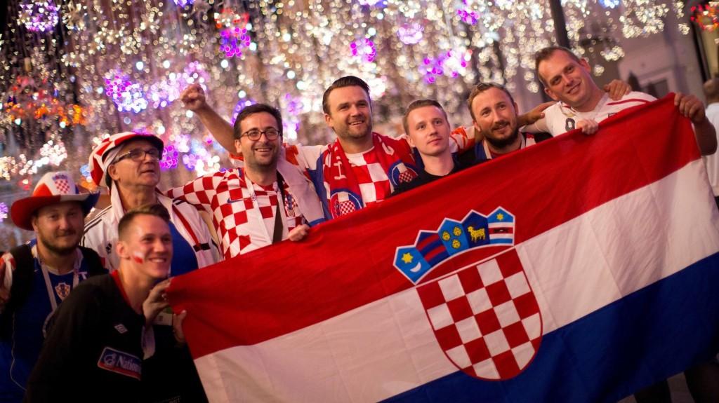 Nem keseredtek el a horvát szurkolók