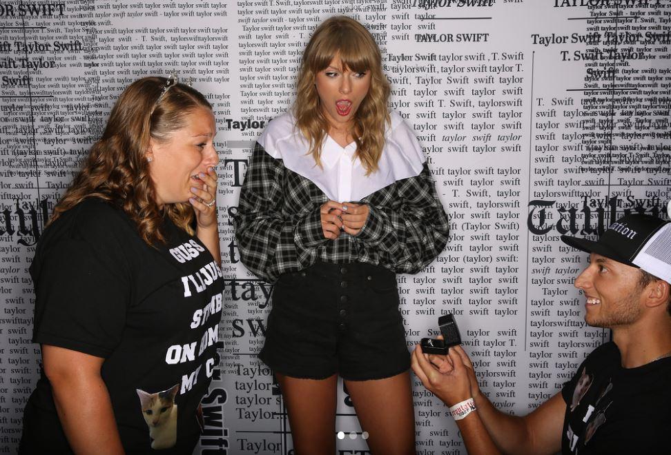 Taylor Swiftet sokként érte a meglepetés
