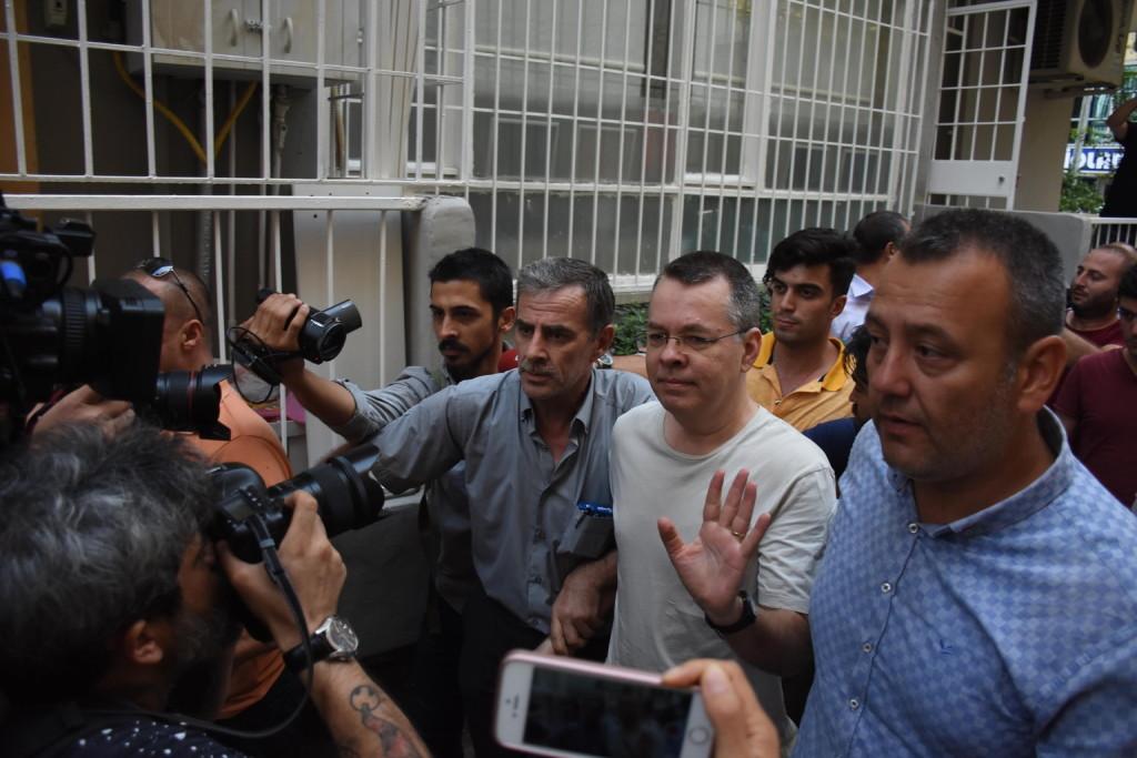 Bíróság fog dönteni a török fogságban lévő amerikai lelkészről
