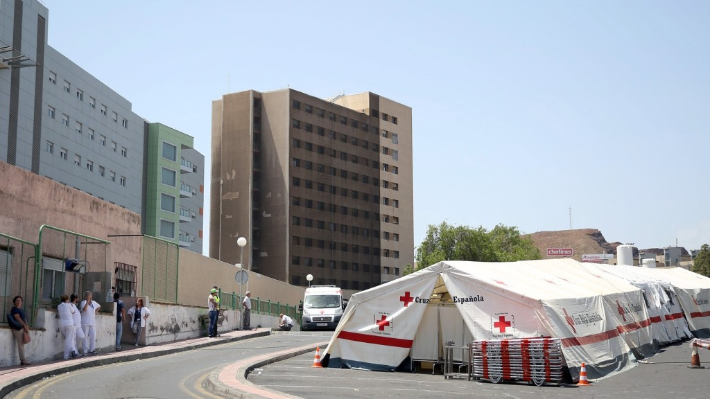 Az egyik páciens gyújtotta fel a tenerifei kórházat
