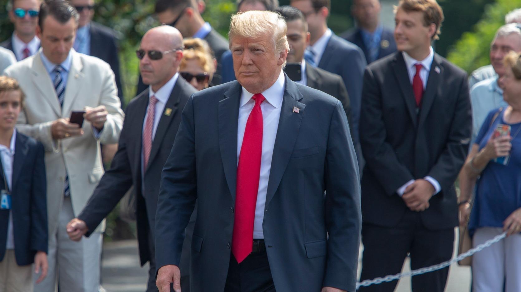 Donald Trump amerikai elnök (Fotó: MTI/EPA/Tasos Katopodis)
