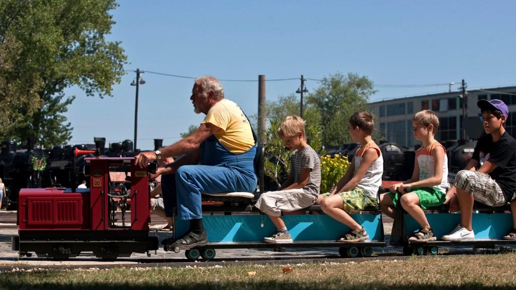 Európai kerti vasutak találkozója a Vasúttörténeti Parkban