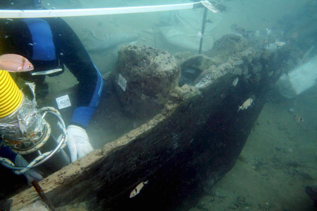 Ókori hajóroncsot találtak Palma de Mallorca strandján