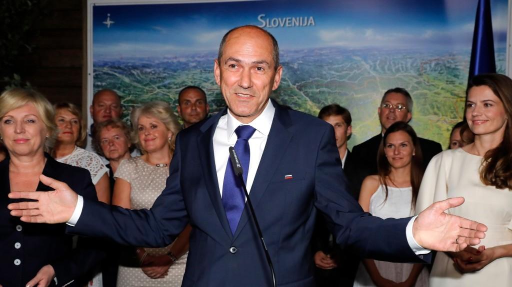 Jobboldali siker Szlovéniában
